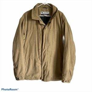 Columbia Men's Tan Winter Coat
